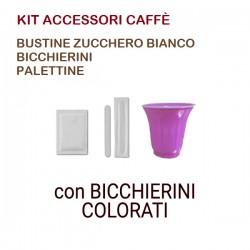 KIT ACCESSORI CAFFÈ 50pz...